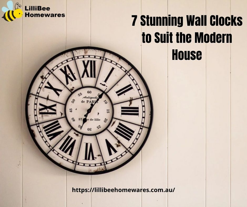 7 Stunning Wall Clocks to Suit the Modern House (1)