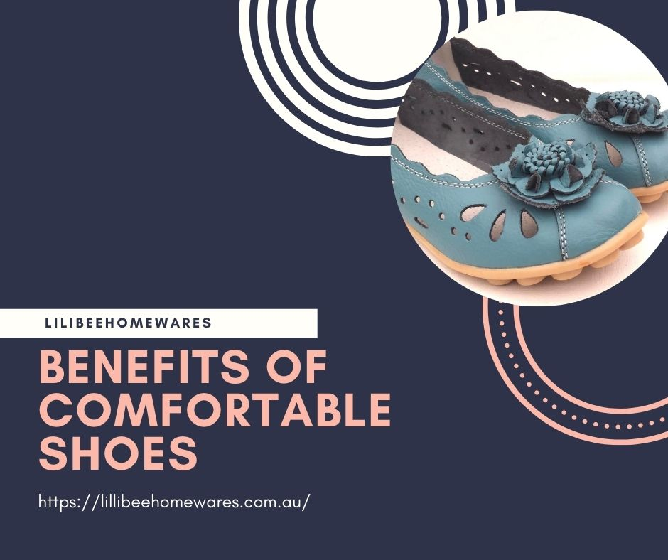 Benefits of Comfortable Shoes